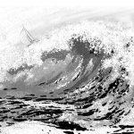 【漫画の描き方】背景 「海,波,水の絵をプロ並みに簡単に描く5つのコツ」